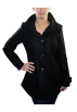 Kenneth Cole Reaction Jacket - coats -  KENNETH COLE Reaction Meltons Trench Womens Peacoat Black