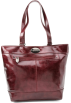 Kenneth Cole Reaction Bag -  Kenneth Cole Reaction Luggage Etched In Stone Tote Dark Red