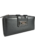 Kenneth Cole Reaction Hand bag -  Kenneth Cole Reaction Womens Tab Closure Wristlet Clutch Wallet Gunmetal Gray