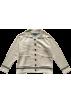 FECLOTHING Jakne i kaputi -  Lapel stitching striped pocket loose k