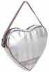 LeSportsac Bag -  LeSportsac Heart Crossbody Bag Silver Glitter
