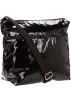LeSportsac Bag -  Lesportsac Women's Small Cleo 7562GY Crossbody Black Patent