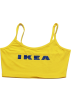 FECLOTHING Vests -   Letter IKEA Yellow Sling