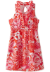 Lilly Pulitzer Dresses -  Lilly Pulitzer Girls 7-16 Mini Adeline Cinched Dress Tango Orange