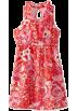 Lilly Pulitzer Dresses -  Lilly Pulitzer Girls 7-16 Mini Adeline Cinched Dress Tango Orange