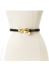 Lilly Pulitzer Belt -  Lilly Pulitzer Women's Critter Bow Patent Belt Black Critter