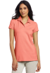 Lilly Pulitzer Shirts -  Lilly Pulitzer Women's Island Polo Shirt Ginger Orange