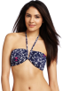 Lilly Pulitzer Swimsuit -  Lilly Pulitzer Women's Keene Wire Bandeau Top Bright Navy Mate