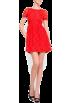Mango Dresses -  Mango Women's A-line Lace Dress Orange
