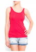 Mango Top -  Mango Women's Basic Straps Top Coral