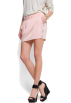 Mango Skirts -  Mango Women's Contrast Side Miniskirt Peach