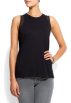 Mango Top -  Mango Women's Detailed Chiffon Top Black