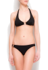 Mango Swimsuit -  Mango Women's Halter Top Ring Black