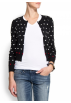Mango Cardigan -  Mango Women's Heart Knit Cardigan Black