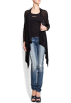 Mango Cardigan -  Mango Women's Long Cardigan Black
