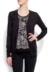 Mango Cardigan -  Mango Women's Long Knitcardigan Black