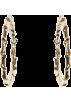 Mango Earrings -  Mango Women's Loop Earrings Spiral