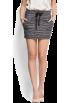 Mango Юбки -  Mango Women's Metallic Yarn Skirt Grey