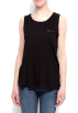 Mango Top -  Mango Women's Relaxed-fit Pocket Top Black