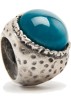 Mango Rings -  Mango Women's Ring Large Stone Turquoise