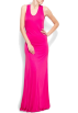 Mango Dresses -  Mango Women's Scoop Back Maxi-dress Fuschia
