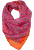 Mango Scarf -  Mango Women's Silk Palm Trees Printed Scarf