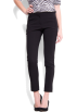 Mango Pants -  Mango Women's Slim-leg Cropped Trousers Black