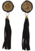Mango Earrings -  Mango Women's Tassel Long Earrings