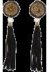 Mango Earrings -  Mango Women's Tassel Long Earrings