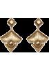 Mango Earrings -  Mango Women's Triangular Earrings