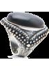Mango Ringe -  Mango Women's Vintage Style Ring Black