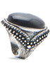 Mango Rings -  Mango Women's Vintage Style Ring Black