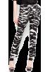 Mango Pants -  Mango Women's Zebra Print Trousers Black