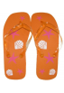 Amazon.com Сандали -  Marc Gold Girls Orange Starfish/Shells Fashion Flip Flop