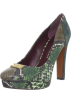 Amazon.com Shoes -  Marc by Marc Jacobs Women's 626918/22 Platform Pump Emerald Embossed Python