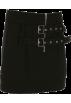 FECLOTHING Skirts -  Metal Adjustable Buttoned Skirt Zip Slim