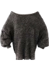 FECLOTHING Пуловер -  Metallic Long Sleeve Mohair Sweater