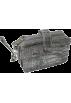 Mundi Wallets -  Mundi Croco Organizer Wristlet Pewter