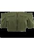 FECLOTHING Belt -  One-shoulder zipper pocket tooling expos