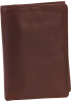 Osgoode Marley Wallets -  Osgoode Marley Cashmere Tri-Fold Brandy