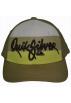 Quiksilver Cap -  Quiksilver Boy's Hat Cap Crook-BY Khaki/White/Yellow