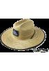 Quiksilver Cap -  Quiksilver Men's Rosenberger Straw Hat Natural