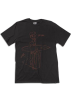 Quiksilver T-shirts -  Quiksilver Ride On Slim T-Shirt - Short-Sleeve - Men's Dark Charcoal