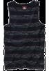 Quiksilver Top -  Quiksilver Scobey Tank Top - Classic Blue Black
