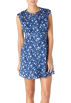Quiksilver Obleke -  Quiksilver Swan Bloom Dress Swan Bloom