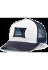 Quiksilver Cap -  Quiksilver Truck Stop Hat White/ Black