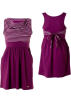 Roxy Dresses -  Roxy Cutting Edge Dress -Kids sparkling grapeSize: