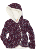 Roxy Jacket - coats -  Roxy Kids Girls 2-6x Teenie Wahine - Balloon Bandit Hybrid Jacket Potent Purple Print