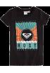 Roxy T-shirts -  Roxy Sun Box T Shirt -Kids new blackSize: