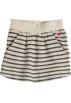 Roxy Saias -  Roxy Super Stoked Scooter Skirt -Kids metro oatmeal heather stripeSize: